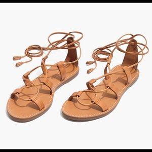 Madewell Broadwalk Laceup Sandals